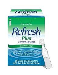 Refresh Plus Lubricant Eye Drops, 30 Sin...