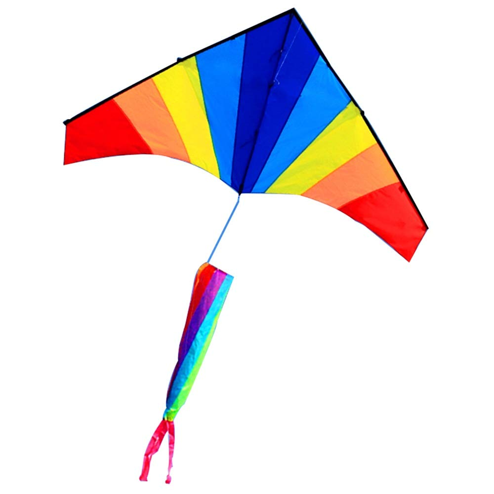 ZHAOXIAOMEI XIAOMEI Breeze Easy To Fly Parachute Cloth Glass Rod Big Triangle Kite ( Size   06 )