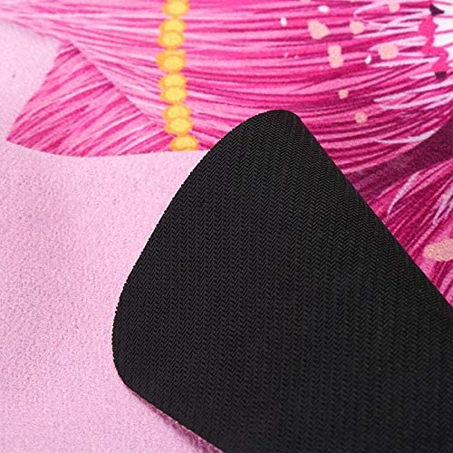 Yoga mat ヨガのために薄い1.5ミリメートル薄い折り畳み式トラベルヨガマット、ピラティス、ストレッチ、瞑想、床、フィットネス workout