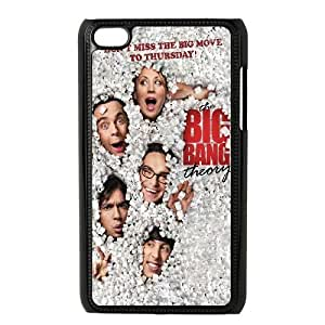 Cute TPU Case Big Bang Theory Poster iPod Touch 4 Case Black