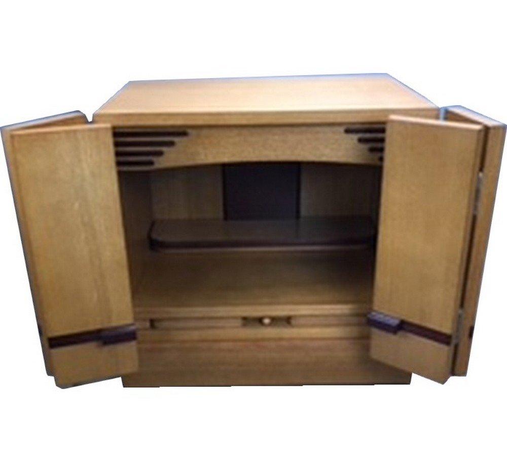 【備後堂】 ミニ 仏壇 家具調 小型 卓上 上置き 横幅40㎝ B078PXSNYF