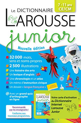 Dictionnaire junior bimédia (LA.LF.DIC.JUNIO) por Larousse