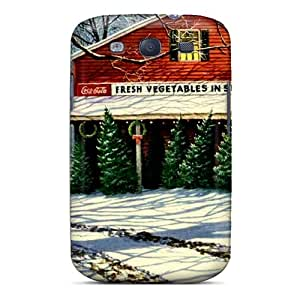 Faddish Phone Evergreen Winter Case For Galaxy S3 / Perfect Case Cover