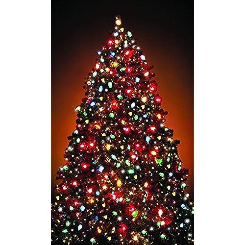 wowindow posters christmas tree window decoration 345x60 backlit poster - Christmas Window Decorations Amazon
