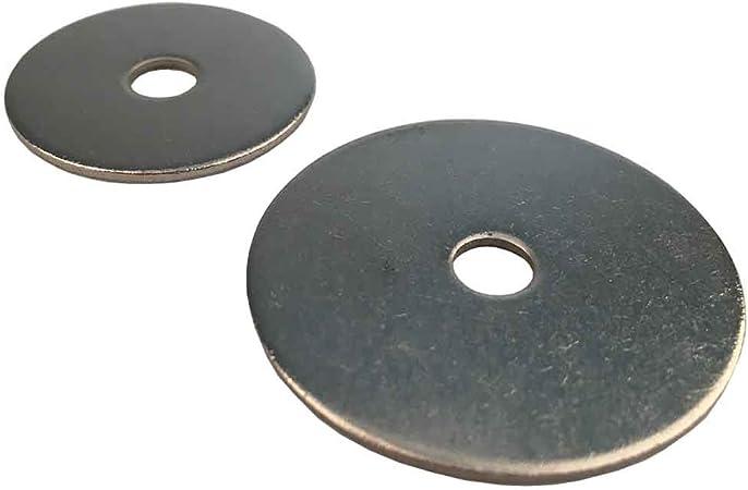 200, 5,3 x 30 mm Karosseriescheiben verzinkt M5 M5 M12 Kotfl/ügelscheiben Unterlegscheiben Stahl
