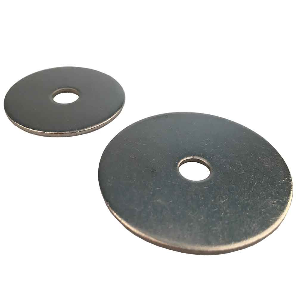 Pack of 20  Washers 4.3  x 12  to 12.5  x 40  Stainless Steel A2 D´s Items