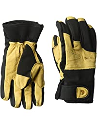 Carhartt mens Winter Dex Cow Grain Leather Trim Glove Cold Weather Gloves