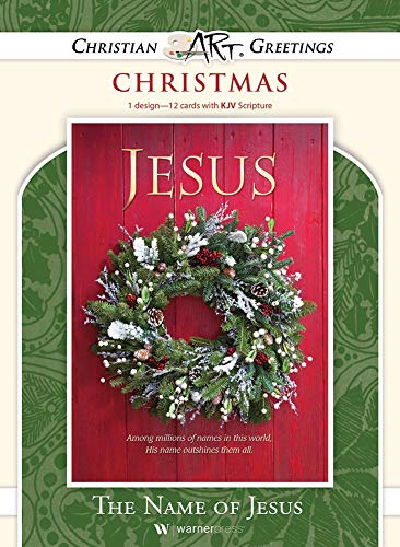 The Name of Jesus - Christmas - Boxed Greeting Cards - KJV Scripture