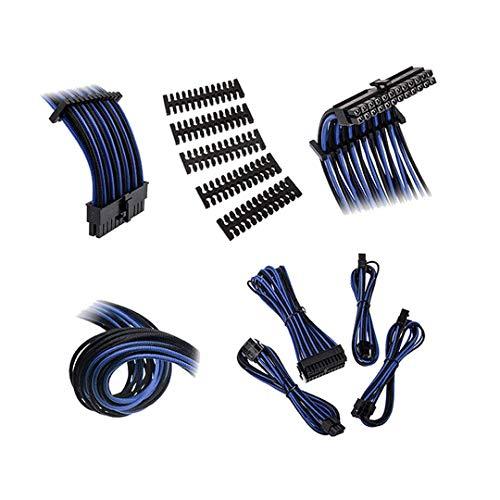 - BitFenix Alchemy 2.0 Extension Cable KIT Black& Blue Sleeve/Black Connector (BFX-ALC-EXTKB-RP)