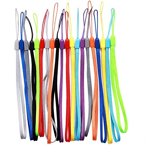 20 Pack Hand Wrist Strap Lanyards for Keys Flash Drives, 7 Inch