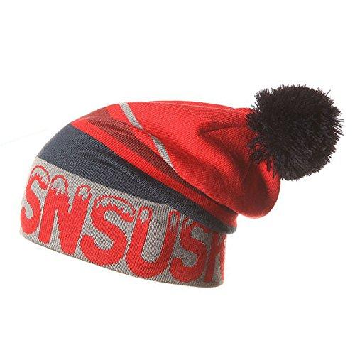 Gome-z NEW Winter Ski Hat Warm Woolen Caps For Men Hats Female Beanies Skullies Quality Gorros Hombre Snowboard Cap gorros de lana 06 (Skull Cap Snowboard Ski Beanie)
