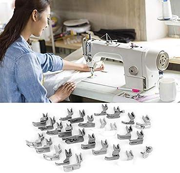 25 unids Pies prensatelas Set Máquina de coser Pie Pie Prensatelas ...