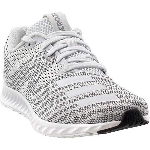 adidas Women's Aerobounce Pr w Running Shoe White/core Black, 8.5 M US