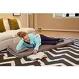 Tri-Fold Bed Color: Dove Grey
