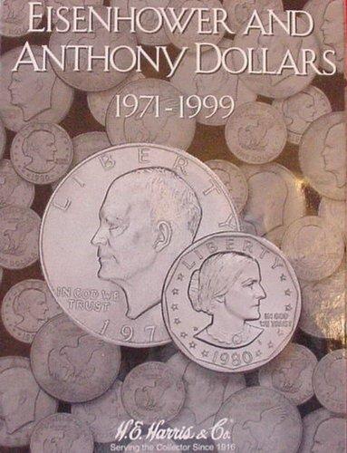 Harris Ike & Anthony Dollars 1971-1999 Coin Folder -