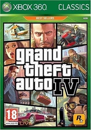 Rockstar Games Grand Theft Auto IV, Xbox 360 - Juego (Xbox 360 ...