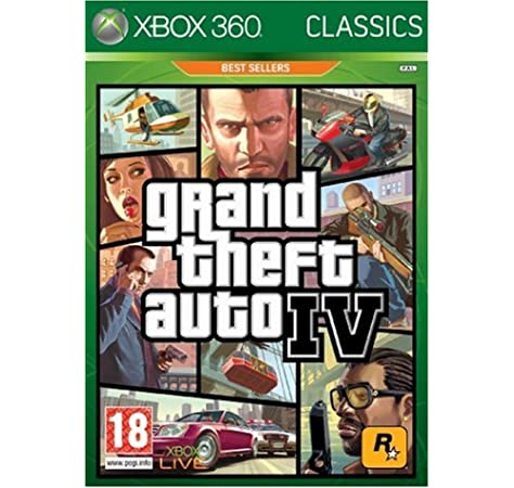 Rockstar Games Grand Theft Auto IV, Xbox 360 - Juego (Xbox 360, Xbox 360, Acción / Aventura, M (Maduro)): Amazon.es: Videojuegos
