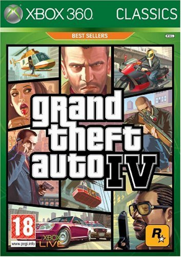 Grand Theft Auto Iv Xbox 360 Game - Rockstar Games Grand Theft Auto Iv (Xbox 360)