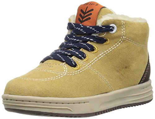 carter's Boys' Vandal Casual Sneaker, Khaki/Brown, 8 M US Toddler (Carters Boys Khaki)