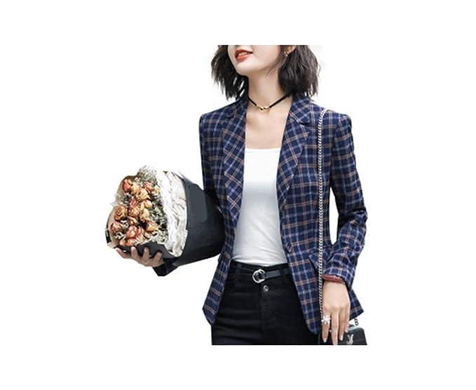 Amazon.com: Chaqueta para mujer, talla 5XL, con botón, talla ...