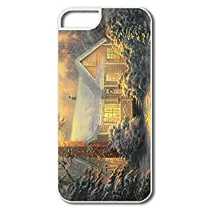 Christmas Cottage By Thomas Pc Popular Case Cover For IPhone 5/5s