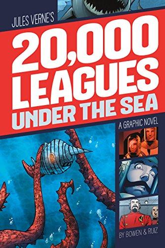 20,000 Leagues Under the Sea (Graphic Revolve: Common Core Editions) - Sea Graphic