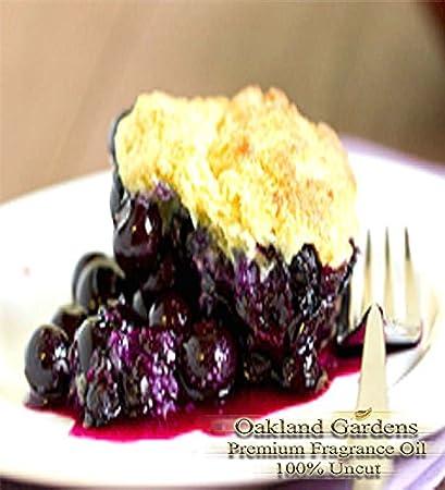 Blueberry Cobbler fragancia aceite – Baked vainilla con adornos de Fresh Blueberries – Bulk aceite por