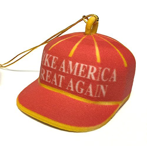 Trump Make America Great Again Red Cap Ornament (Again Ornament)