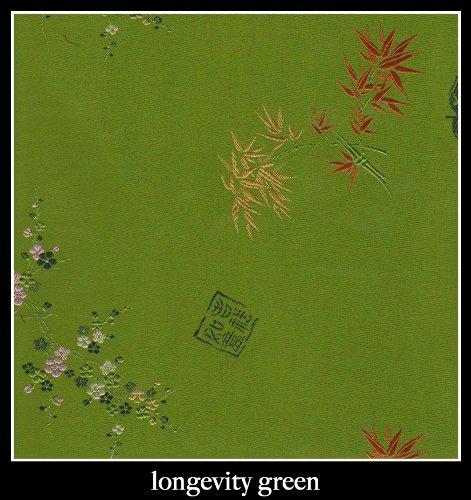"Candi Andi - 4"" Heart Sachet Pillow - Satin Brocade - Lavender Scented - Longevity Green - SH4-LG"