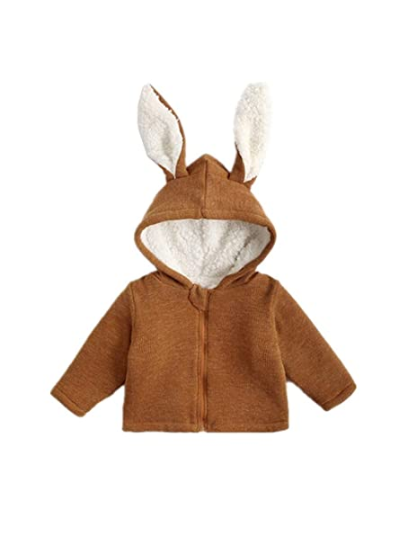 2a47d820d Amazon.com: Cimaya Baby Girls and Boys Soft Fleece Jacket Thickened Warm  Coat for Toddlers Little Kids Winter Outerwear: Clothing