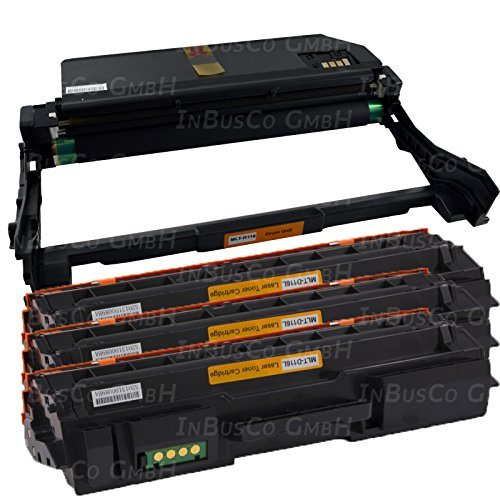 3 TONER D116L + 1 IBC - TROMMEL R116L für SAMSUNG SL-M 2625   SL-M 2625 D   SL-M 2625 F   SL-M 2625 FN   SL-M 2625 N   SL-M 2620   SL-M 2620 D   SL-M 2620 ND