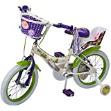 Benotto Bicicleta Flower Power Cross Acero R16 1V Niña Frenos V Ruedas Laterales