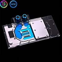 Bykski RGB VGA GPU Water Cooling Block For MSI RX580 RX480 Gaming X8G 8G 4G