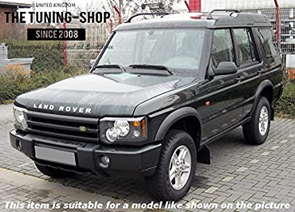 Or Series 2 The Tuning-Shop Ltd For Land Rover Discovery Series 1 1995-1998 Automatic Set Of 2 Gaiters Custom Made Boots Black Genuine Italian Leather Beige Stitching 1999-2004