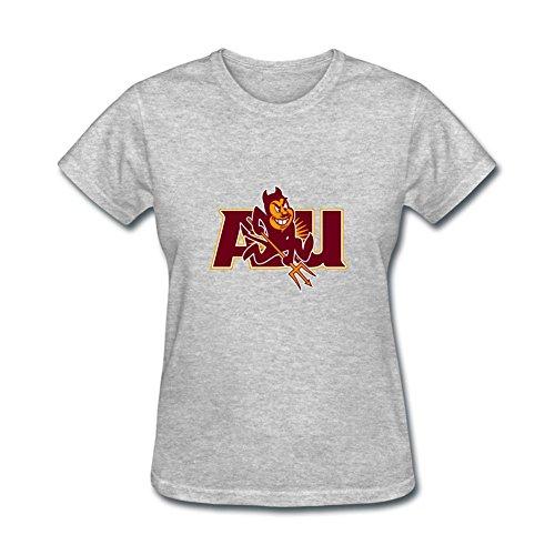 Women's Arizona State University ASU Logo NCAA Short Sleeve T - Mills Directions Arizona