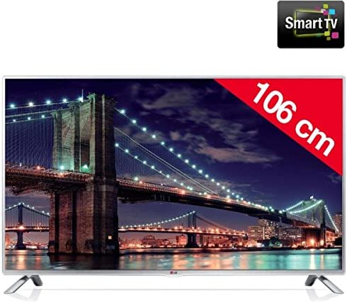 "LG TELEVISOR 42"" IPS 42LB5820 LED Panel IPS FULLHD SMARTTV DLNA WiFi MHL Smart TV: Amazon.es: Electrónica"