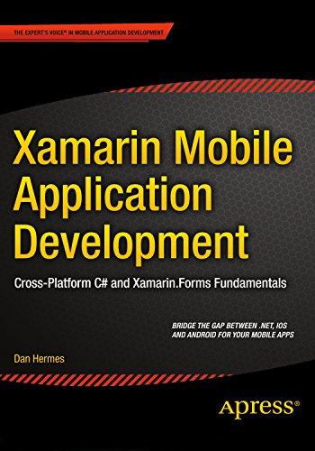 xamarin mobile app development - 1