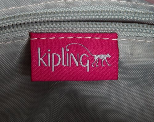 H Bag Womens Kipling Grau Verry x Pink Cross Reth T Grey Warm B Body cm Berry 27x17x15 57wwqfRI