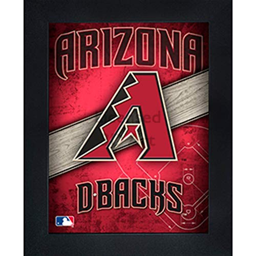- Arizona Diamondbacks 3D Poster Wall Art Decor Framed Print | 14.5x18.5 | Lenticular Posters & Pictures | Memorabilia Gifts for Guys & Girls Bedroom | MLB Baseball Sports Team Fan Poster for Man Cave