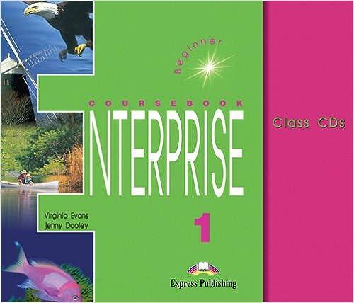 Book Enterprise 1 Beginner - Class CDs Set of 3