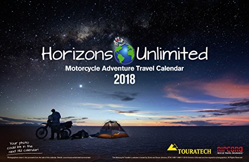 Motorcycle Adventure Travel Calendar 2018