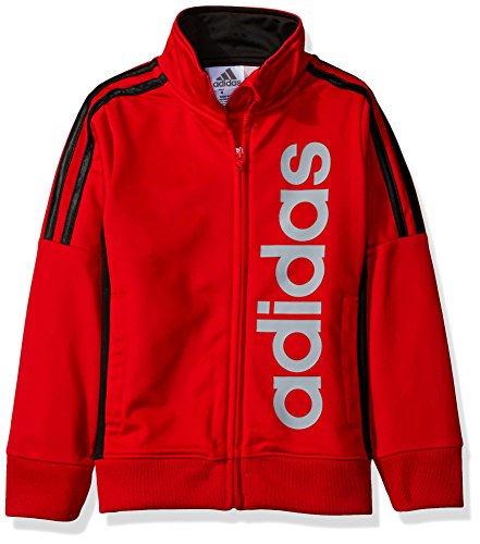 adidas Big Boys' Tiro and Tricot Jackets, Red, S by adidas