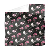 Mexican Birds Flat Sheet: Queen Luxury Microfiber, Soft, Breathable
