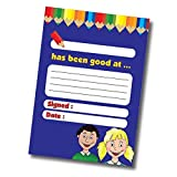 60 Page Pupil Reward Notes Home Praisepad A6 - Primary Teaching Services