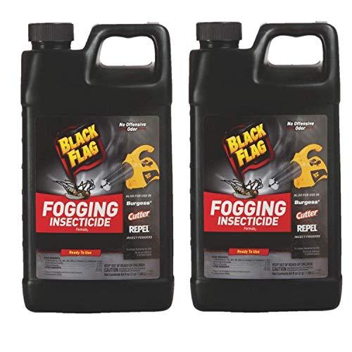 (Black Flag Outdoor Fogging Insecticide, 64 oz, Pack of 2)