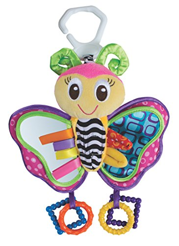Playgro 0181201 Activity Friend Blossom Butterfly Baby Toy (Stroller Toy Blossom)