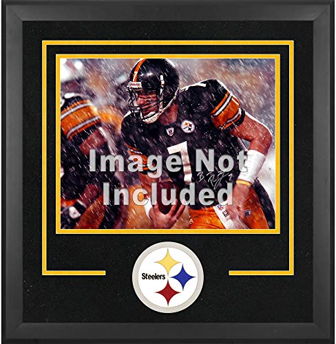 Mounted Memories Pittsburgh Steelers 16x20 Horizontal Set Up Frame with Team Medallion - Pittsburgh Steelers One Size (Pittsburgh Steelers Fan Memories)