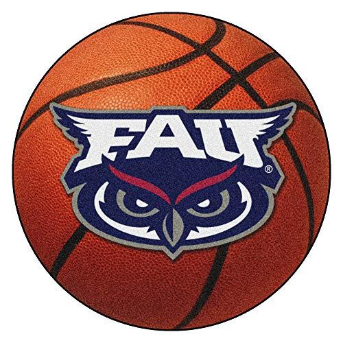 FANMATS NCAA Florida Atlantic University Owls Nylon Face Basketball Rug