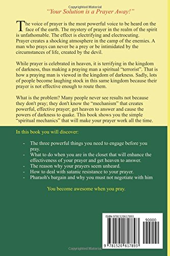 A MAN OF LIKE PASSION: EFFECTIVE PRAYER MISSILE: Fred E