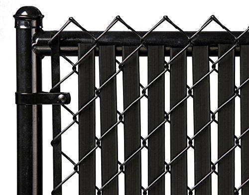 (6ft Black Tube Slat for Chain Link Fence)